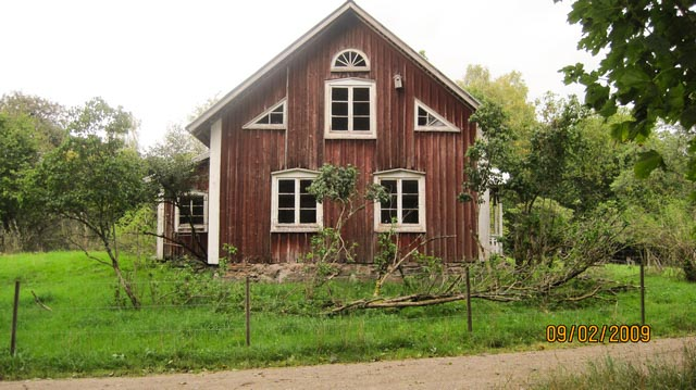 Ekenäs 2009, before renovation.